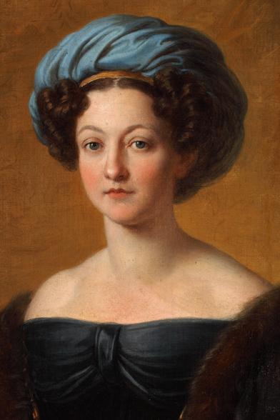 Portret Klementyny z Sanguszków Małachowskiej