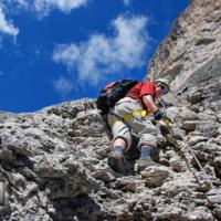 Via Ferrata Brigata Alpina Tridentina 2014
