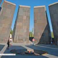 Genocyd - Mauzoleum Ludobójstwa Ormian 1915 roku - Armenia Erewań