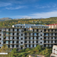 Krajobraz po wojnie - Armenia Shushi