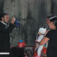 Błogosławieństwo rodziny - Armenia Geghard