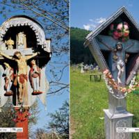 Zarzecze - krzyż, Zelene - krzyż - Ukraina Huculszczyzna