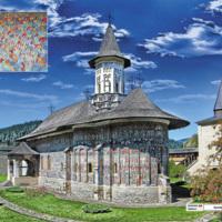 Sucevița - XVI w. - Rumunia Mołdawia