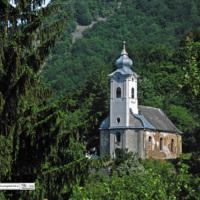 Sacarab - kościół ewangelicki XIX w. - Rumunia Apuseni