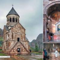 Kosciół pw. Matki Boskiej, XIII w. - Armenia Norawank
