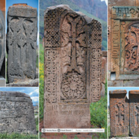 Chaczkary - ormiańskie krzyże - Armenia