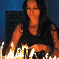 Palenie świec - Armenia Sevanawank