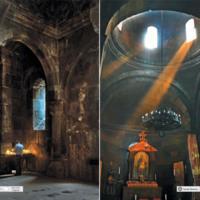 Kościół XIII w. - Armenia Geghard