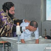 Chrzest święty - Armenia Eczmiadzyn