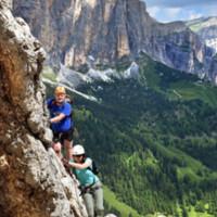 Via Ferrata Brigata Alpina Tridentina 2018