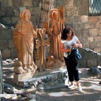 Rodzina przy świętych - Armenia Eczmiadzyn